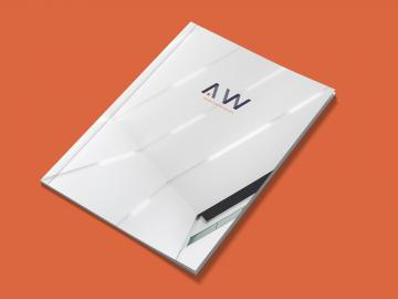 A.W Projectontwikkeling - Brand design